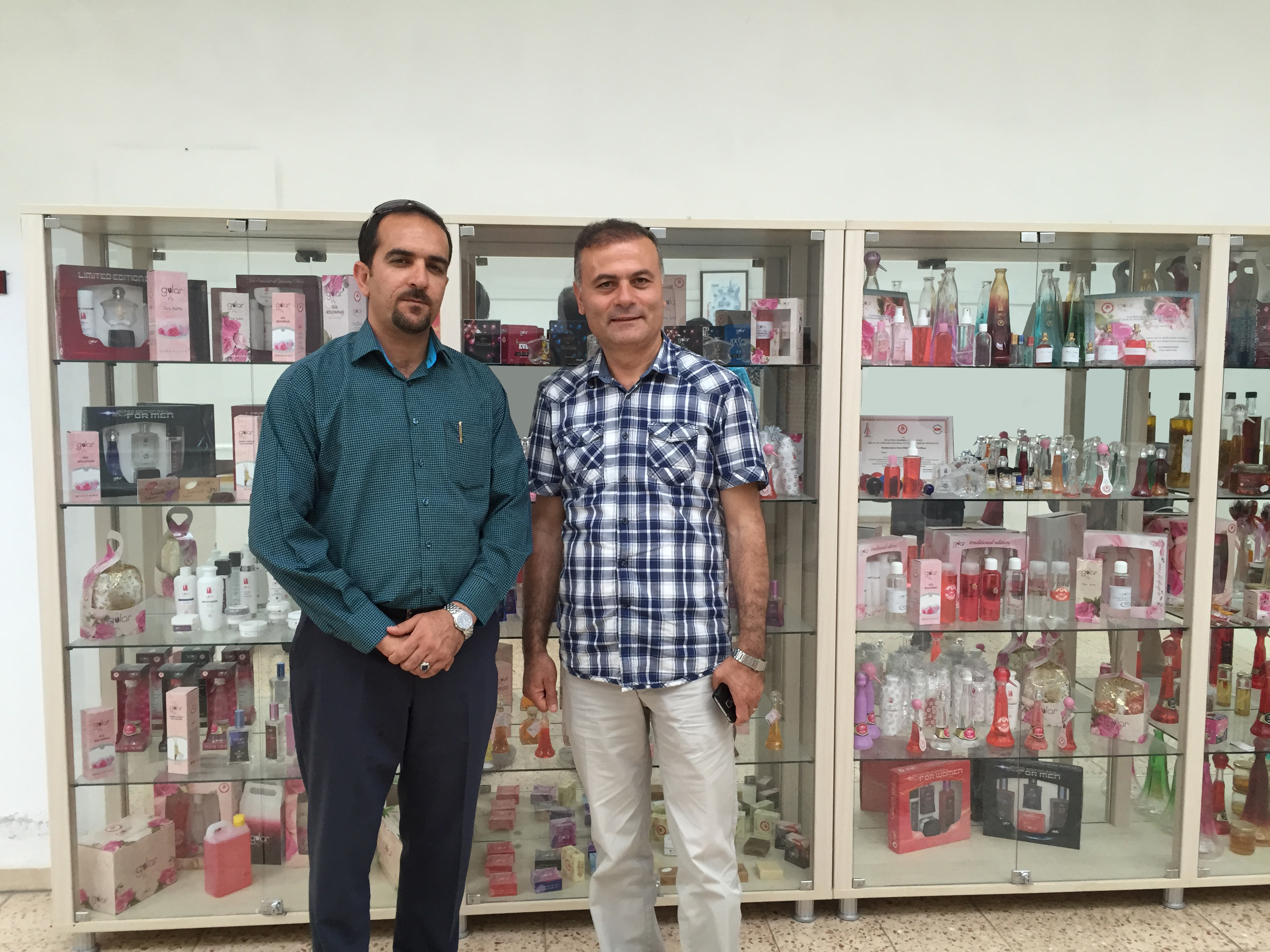 Visiting Managing Director from Research Center of Isparta Agriculture University in Turkey